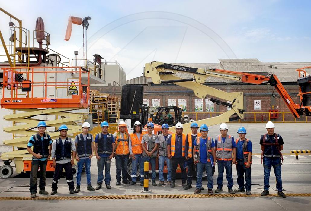 ALO Group Perú en proyectos industriales