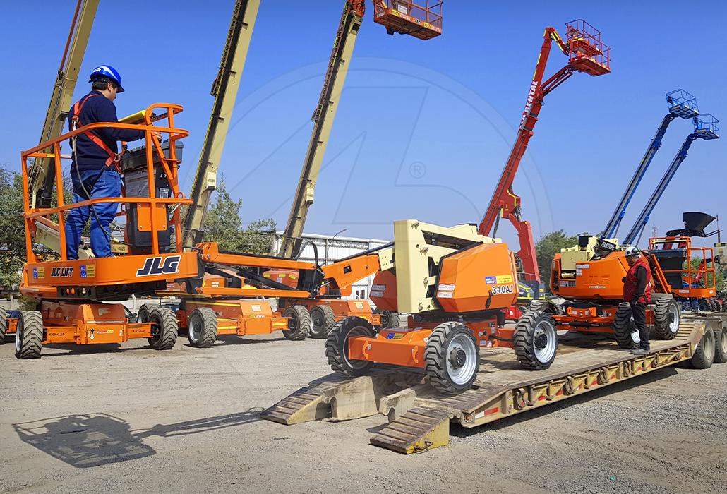 ALO Ventas envía equipos para sector agrícola