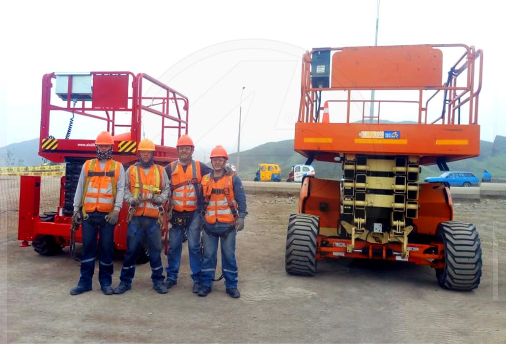 Trabajos de Altura en Peru