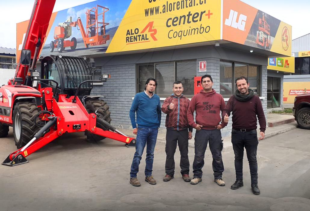 ALO Rental potencia su presencia en Coquimbo