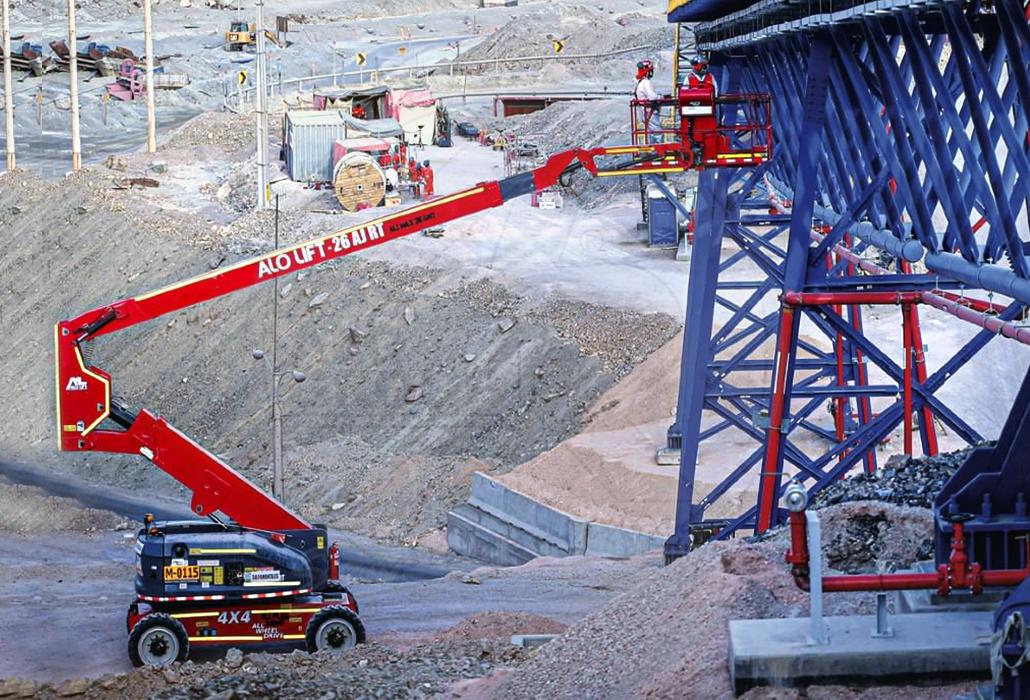 Brazos ALO Lift en Chuquicamata