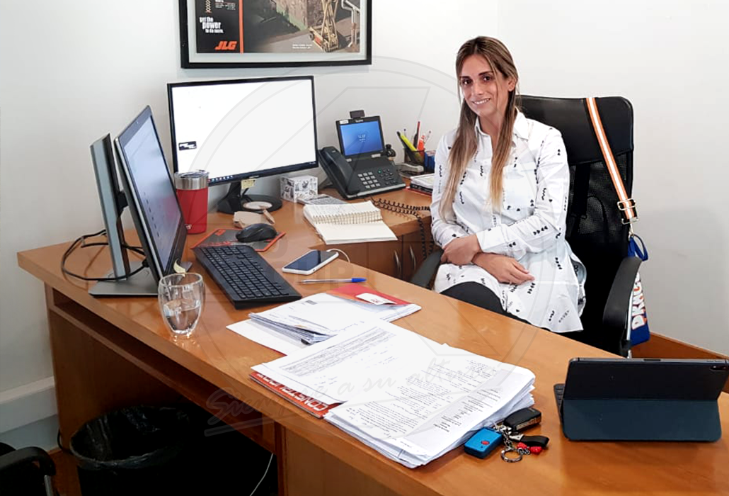 Carla Pérez, gerente de ALO Ventas