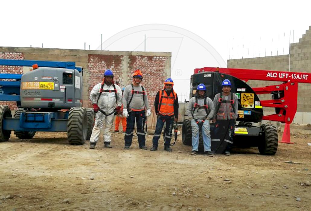 Brazos articulados de ALO Group Perú
