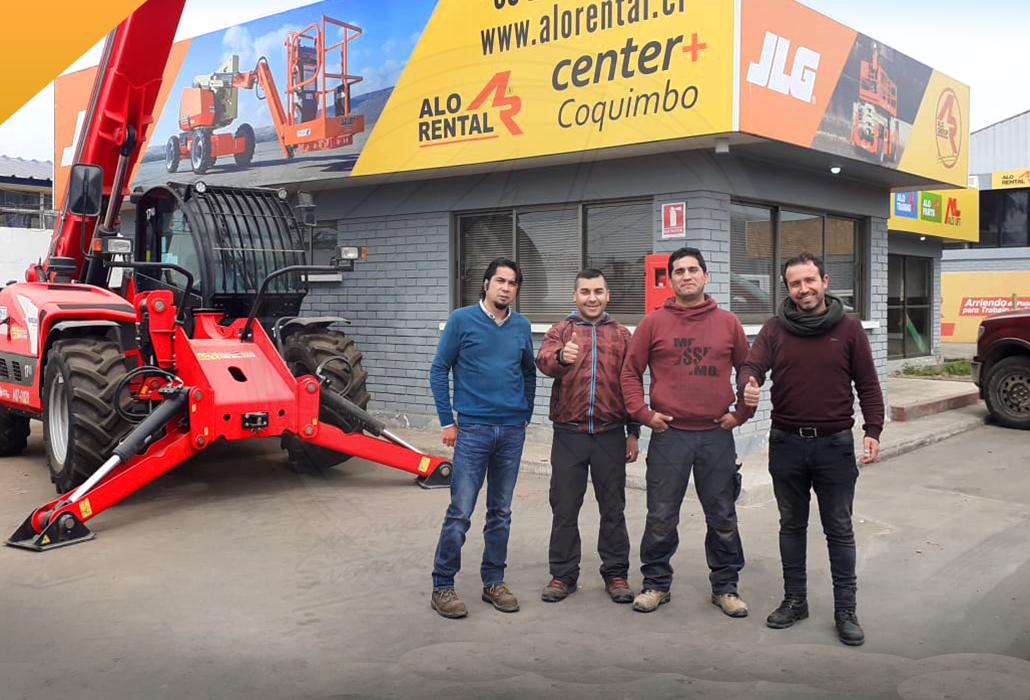 Equipo en center+ Coquimbo