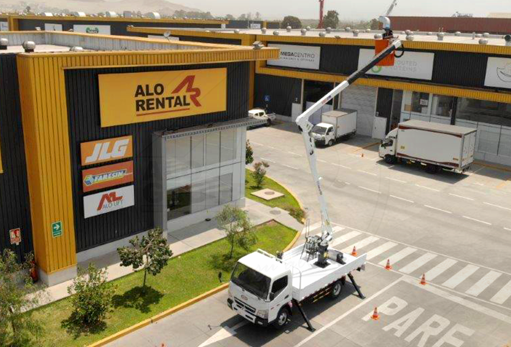Hidroelevador de ALO Group Perú
