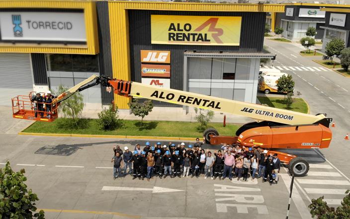 JLG 1850 SJ de ALO Group Perú