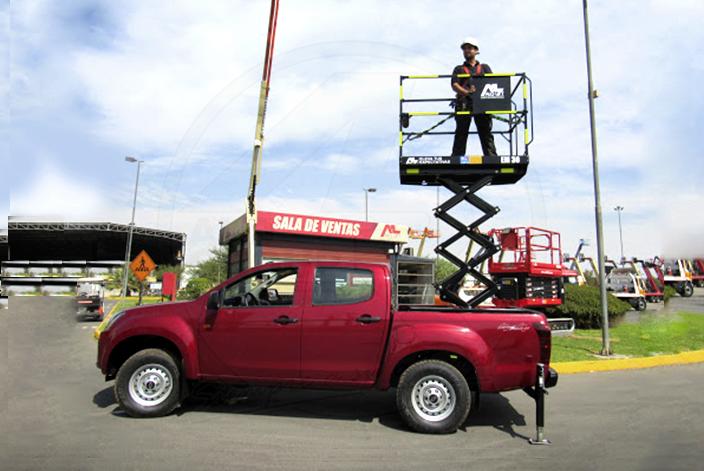 Plataformas sobre camioneta ALO Lift
