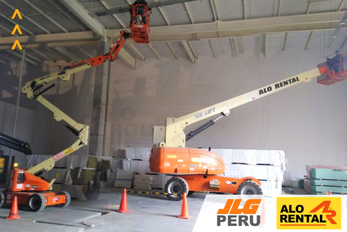 Maquinaria JLG de ALO Group Perú