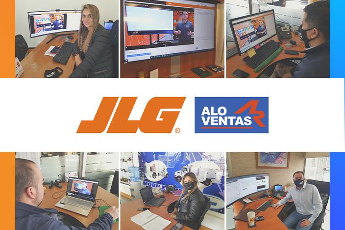 ALO Ventas participa de curso de JLG