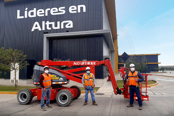 Brazo 16 AJ E de ALO Group Perú