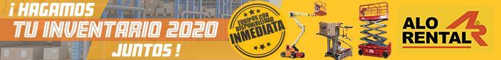 Banner - ALO Rental Inventarios