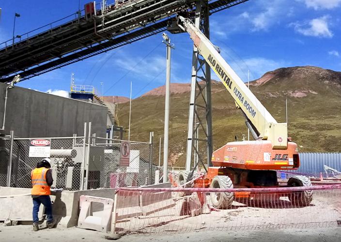 Tijeras ALO Lift en retail de Perú
