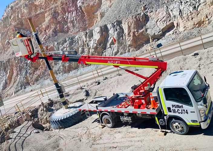Hidroelevadores de ALO Ventas en Chuquicamata