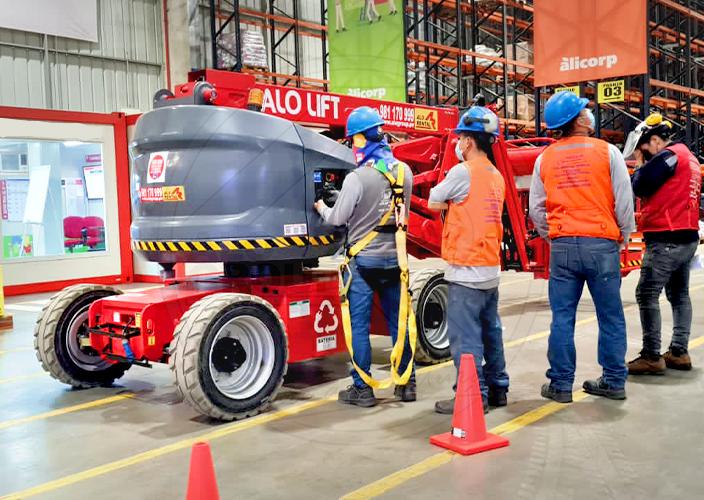 ALO Perú y máquinas ALO Lift en bodegas